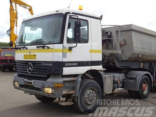 Mercedes-Benz 2040 Actros 4x4 V6 Full Steel Hydraulic Inst. Good