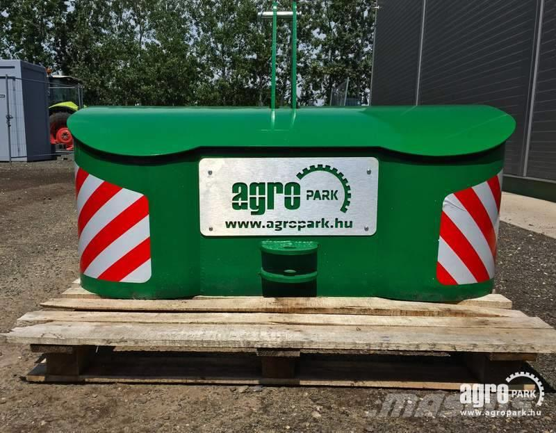 [Other] AGROPARK NEW 800 kg block weight for front linkage