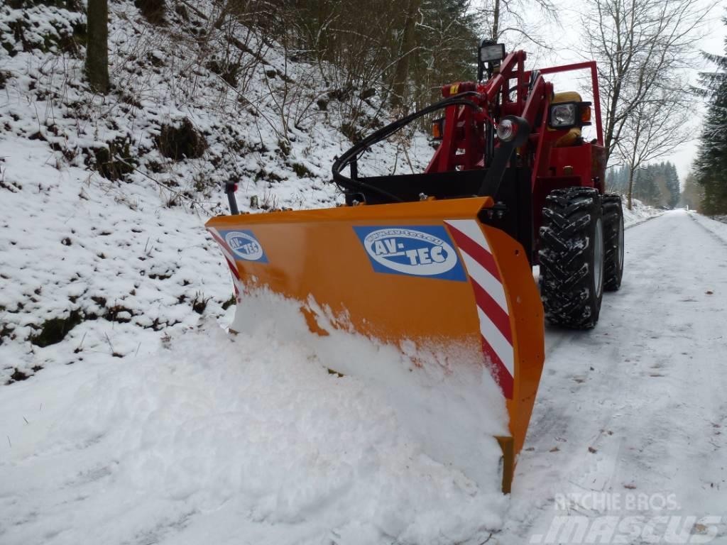 [Other] AV-TEC KR 1400 Schneeschild für Hoflader/Radlader