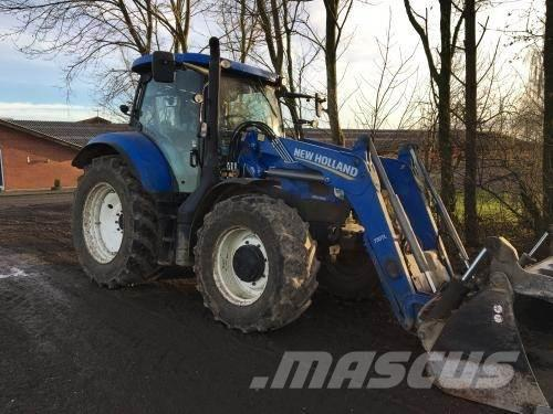New Holland T6.160 AC m Stoll 750 frontlæsser