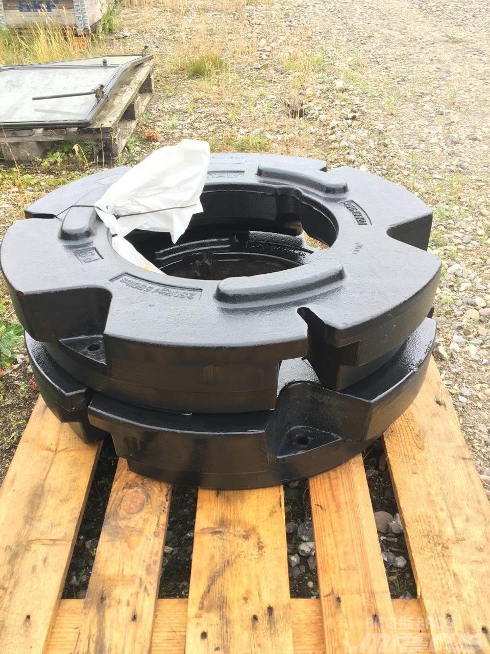 New Holland 2x250 kg hjulvægte