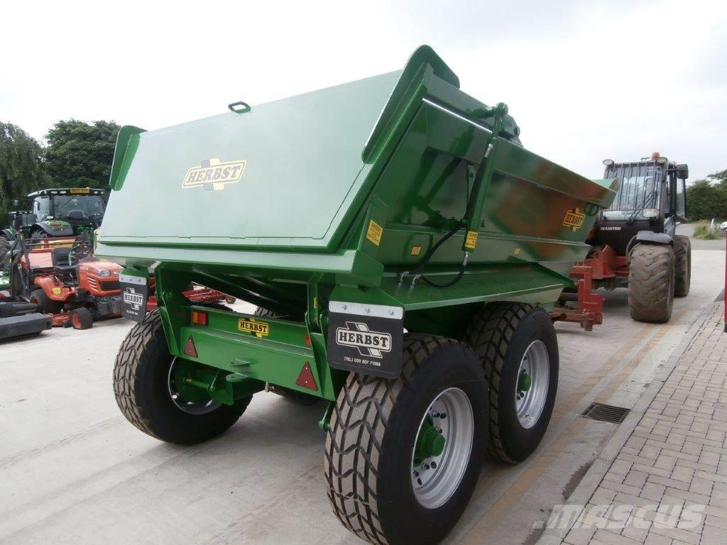 Used Herbst 14T Dump tipper trailers Price: US$ 11,862 for ...
