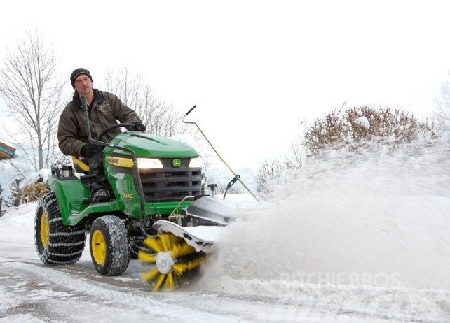 John Deere Snow/Debris Broom, Fits X590 Mower