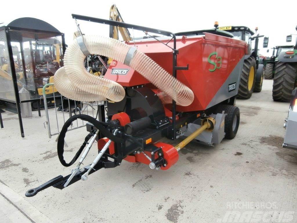 Trilo S3 Trailed Vacuum/Flail