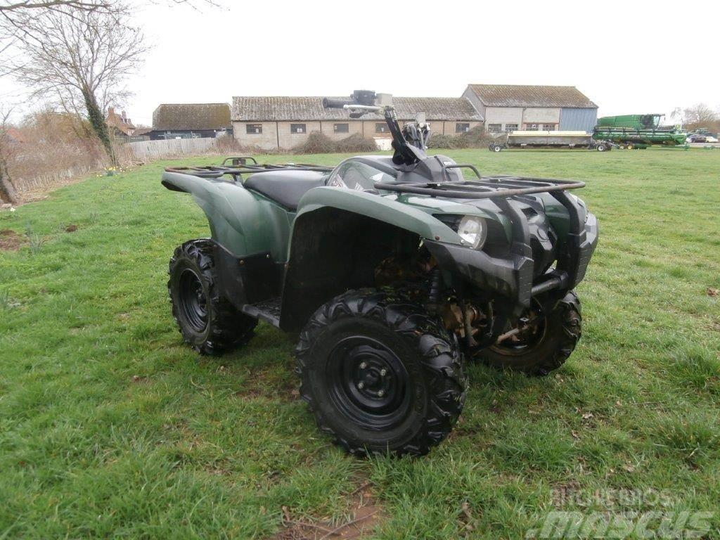 Yamaha 550 Grizzly Quad