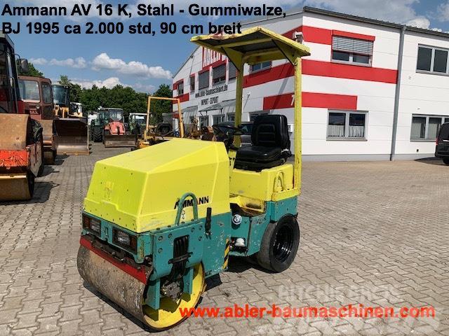 Ammann AV 16 K, Kombiwalze Stahl-Gummi