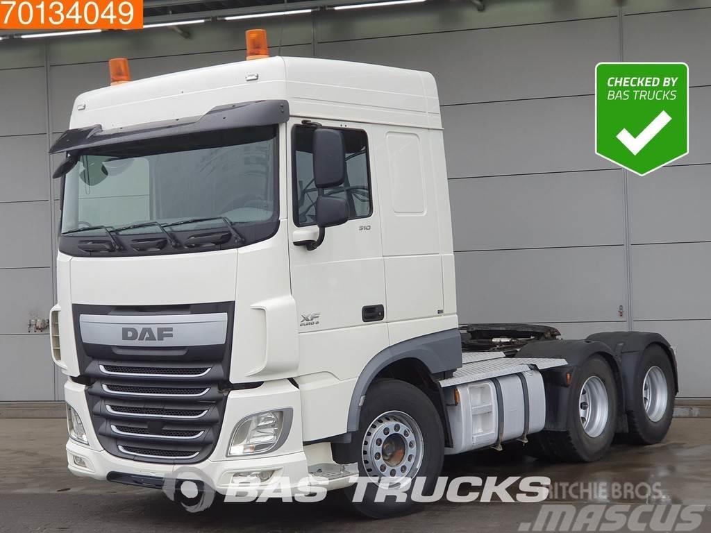 DAF XF 510 6X4 Hydraulik SC Euro 6