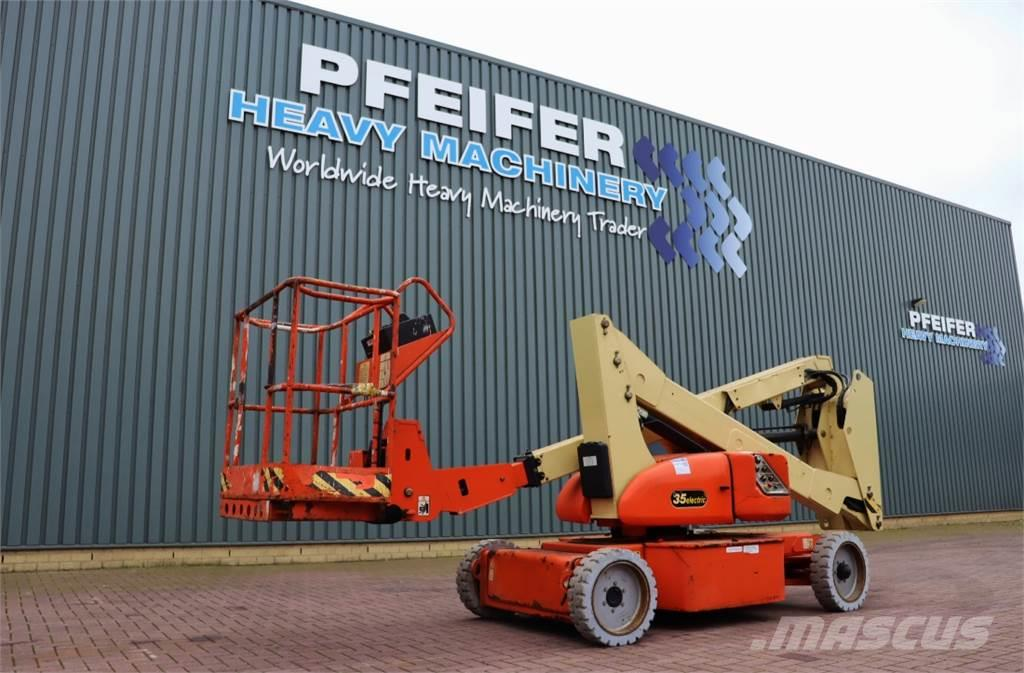 JLG N35E Electric, 12.7m Working Height, Non Marling T