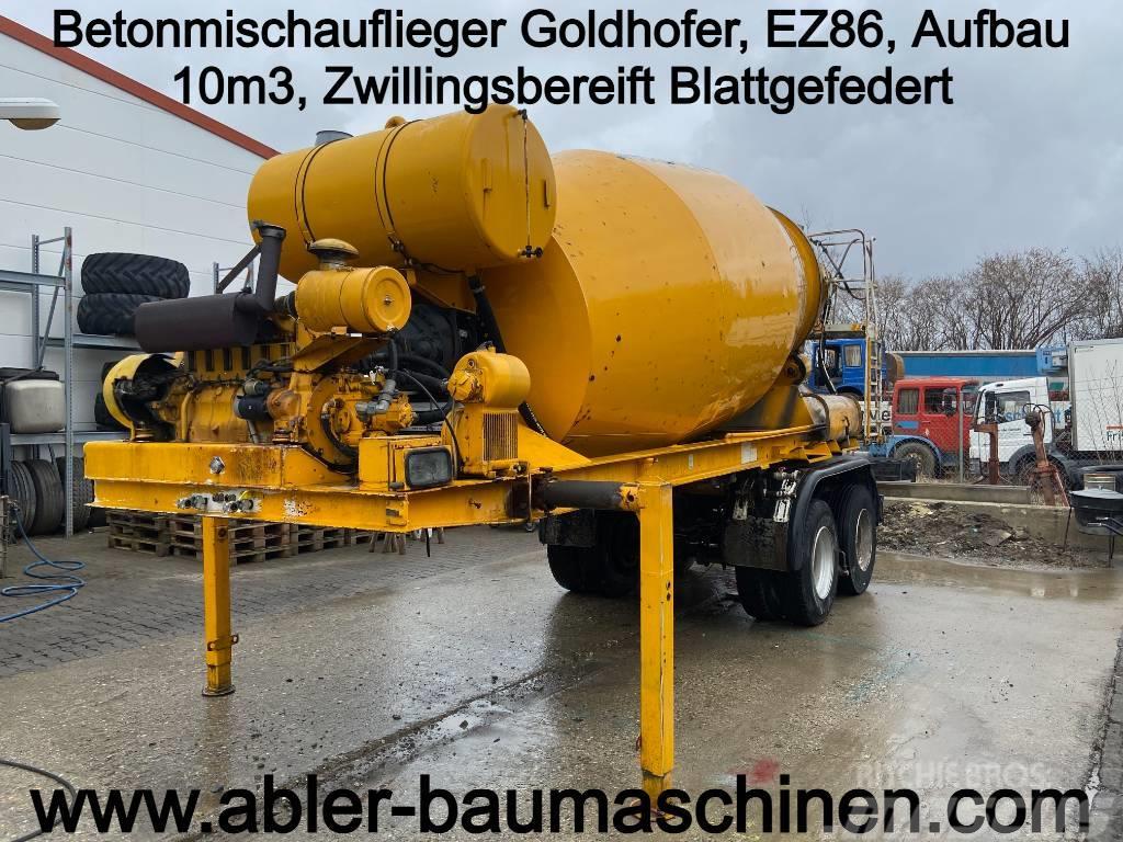 Goldhofer Betonmischauflieger 10m3