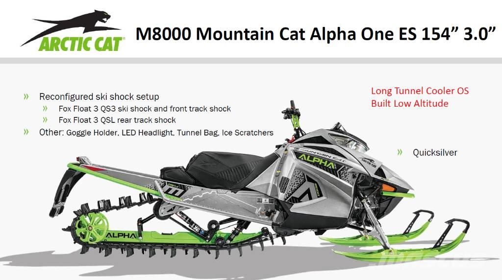 Arctic Cat 2020 M 8000 Mouintain Cat Alpha ONE ES 154 track 3