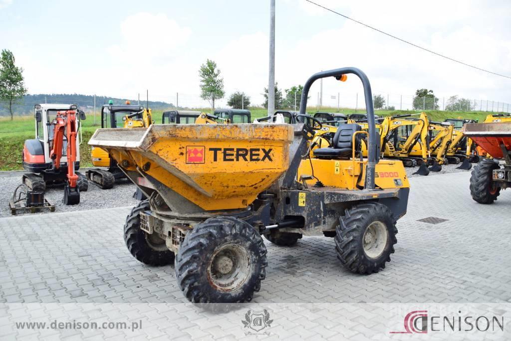 Terex PS 3000 3 ton Swivel dumper