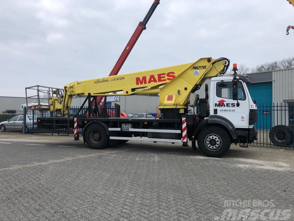 Multitel 30T Vrachtwagen Hoogwerker, 30 meter