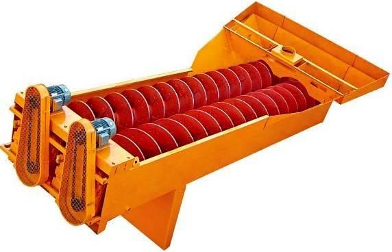 White Lai Sand Washing Machine LSX Screw Sand Washer LSX915
