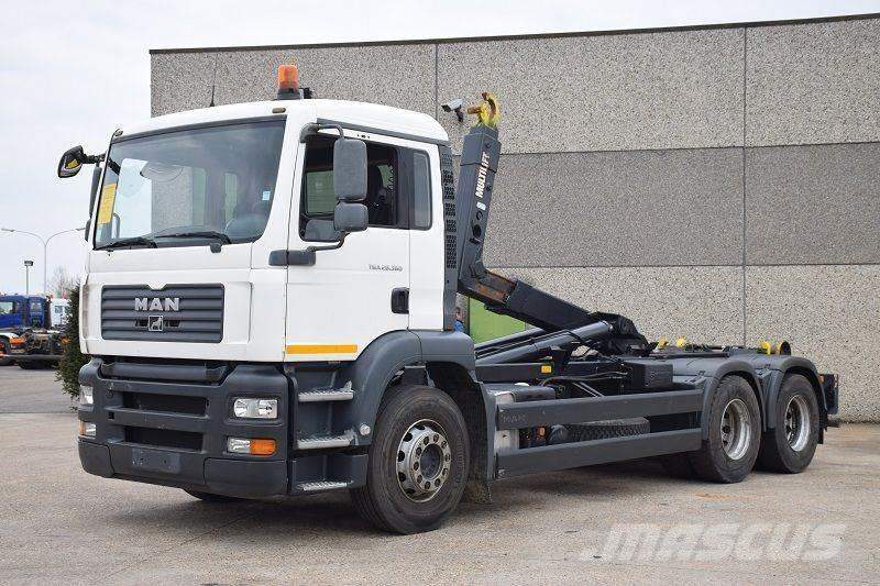 MAN TGA 28.360 6X2 CONTAINER SYSTEEM- CONTAINER SISTEE