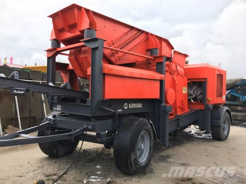 [Other] MABGO Wheeled jaw crusher