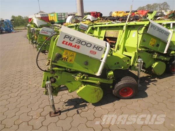 Claas PU 300 HD, Self-propelled forager accessories