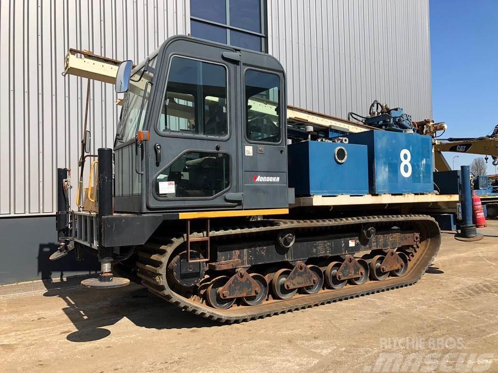 Morooka MST-1500VD Crawler Drill