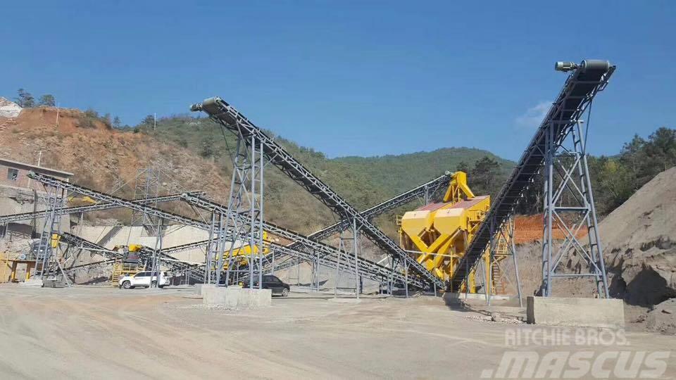 Minyu Granite 30tph crushing plant