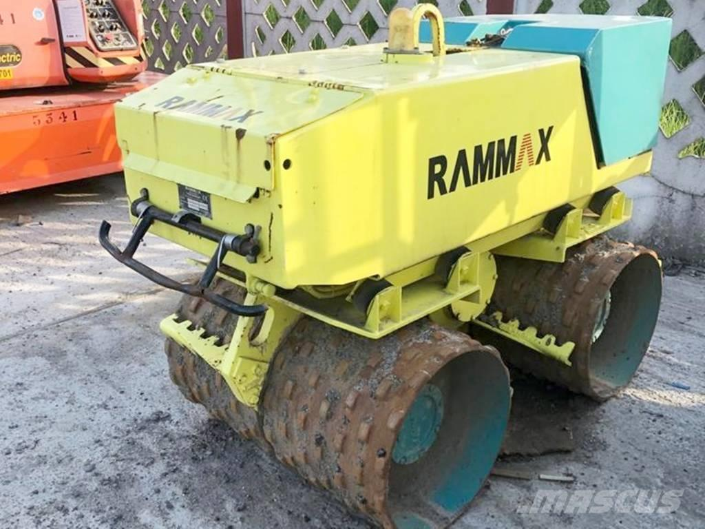 Rammax Walec Okołkowany RAMMAX RW 1505 Waga 1400 Kg