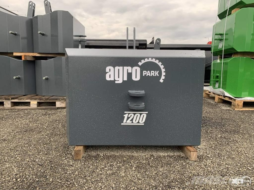 [Other] AGROPARK New AGROPARK 1200 kg block weight for fro