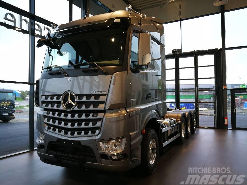 Mercedes-Benz 3253 L Tridem - HIAB
