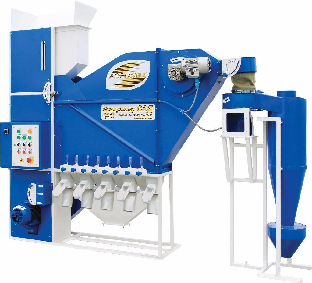 Aeromeh Grain cleaning separator CAD-5
