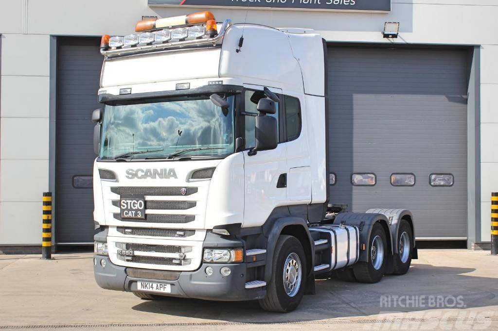 Scania R580 6X4 150000GVW T/Unit