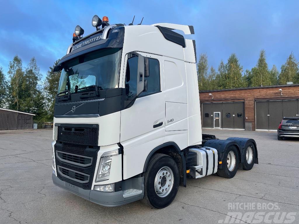 Volvo FH540 6x4 katkeava veto/nouseva teli
