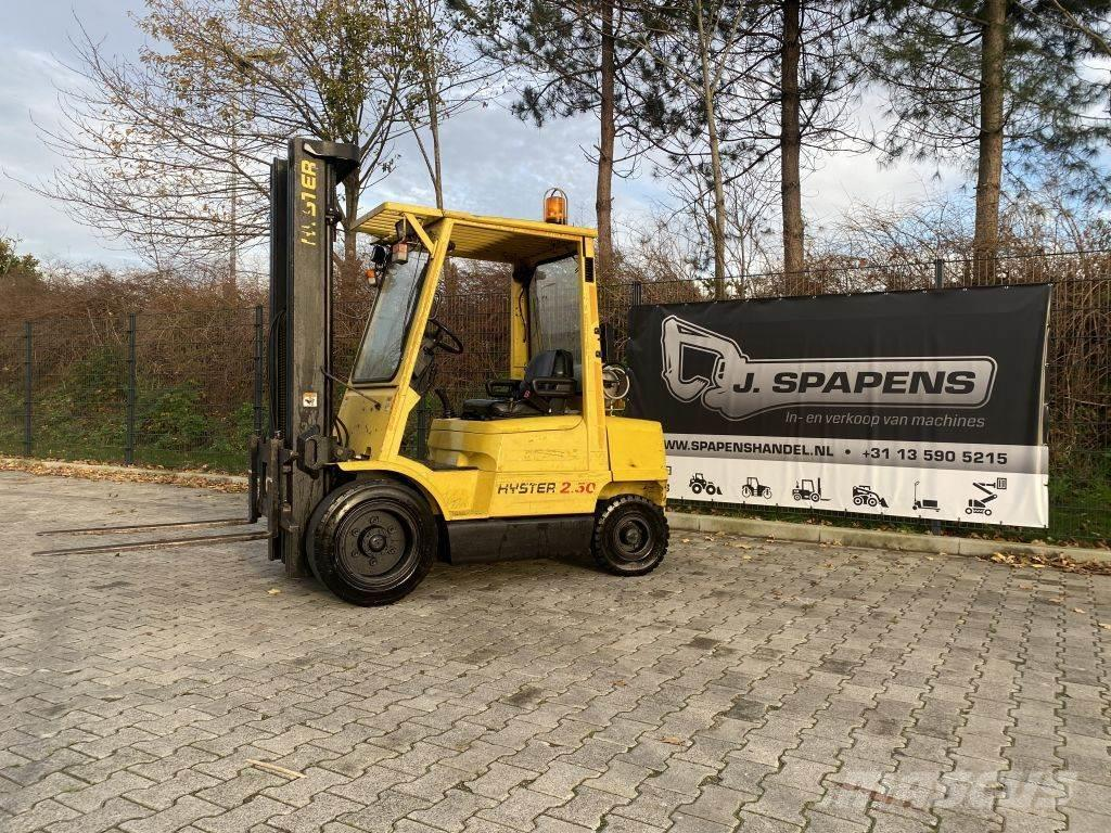 Hyster 2.50 XM Triple Freelift LPG 2500KG