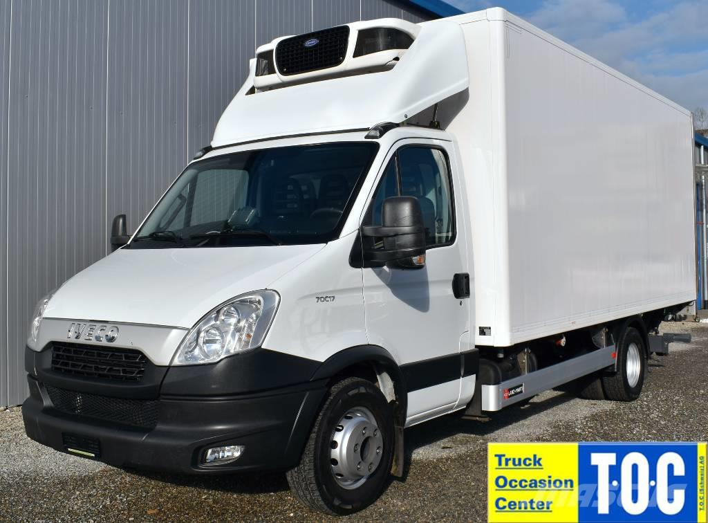 Iveco Daily 70C17 Kühlkoffer LBW Carrier