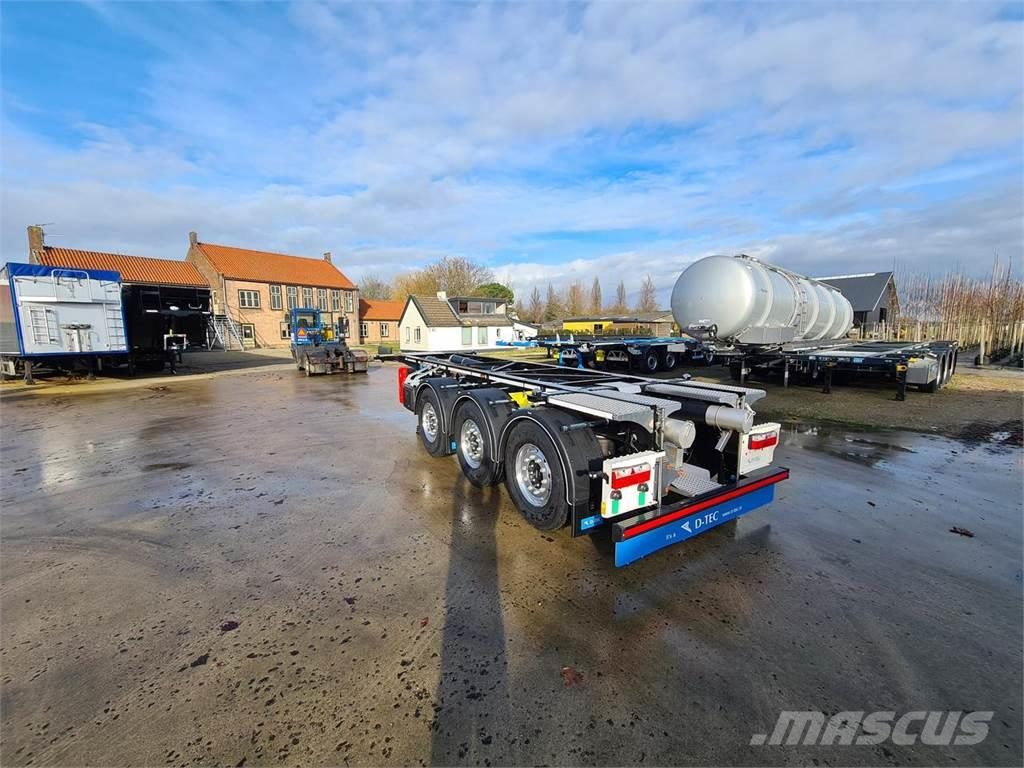 D-tec Trailer Container Carrier CC-20-3-T