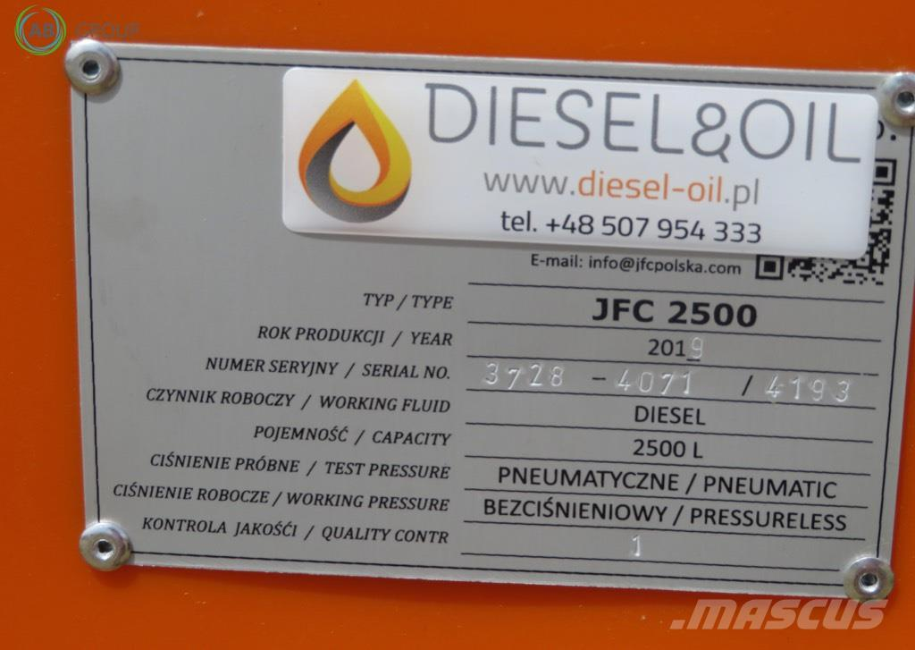[Other] Diesel&Oil Stationary diesel fuel tank 2500l/Stati