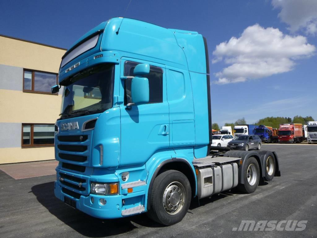 Scania R500 6x2 +EURO5+RETARDER+OPTICRUISE