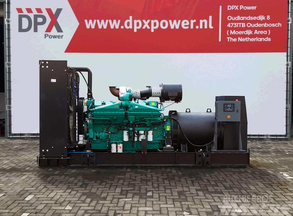 Cummins KTA50G3 - 1.410 kVA Generator - DPX-15522