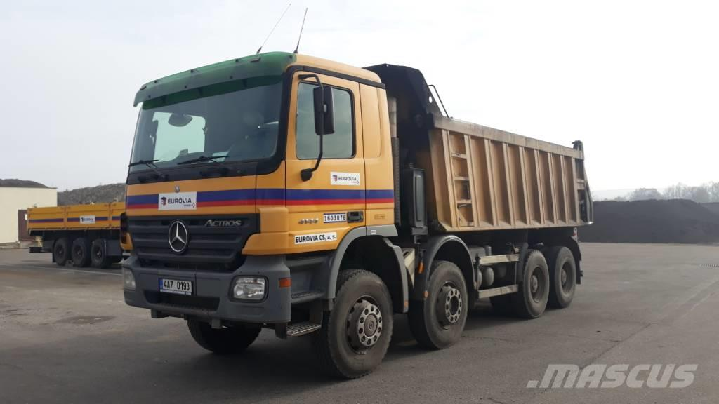Used Mercedes-benz Actros 4144 K Dump Trucks Year  2003 For Sale
