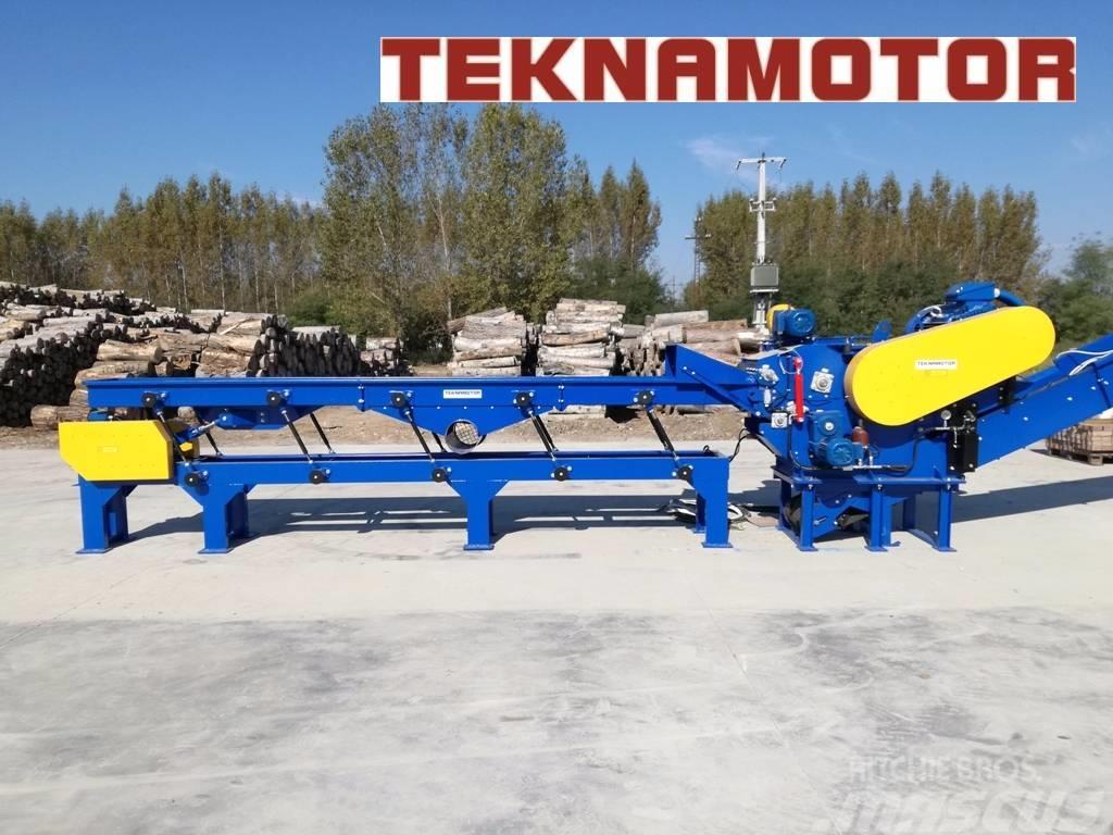 Teknamotor Skorpion 500 EB - wood chipper