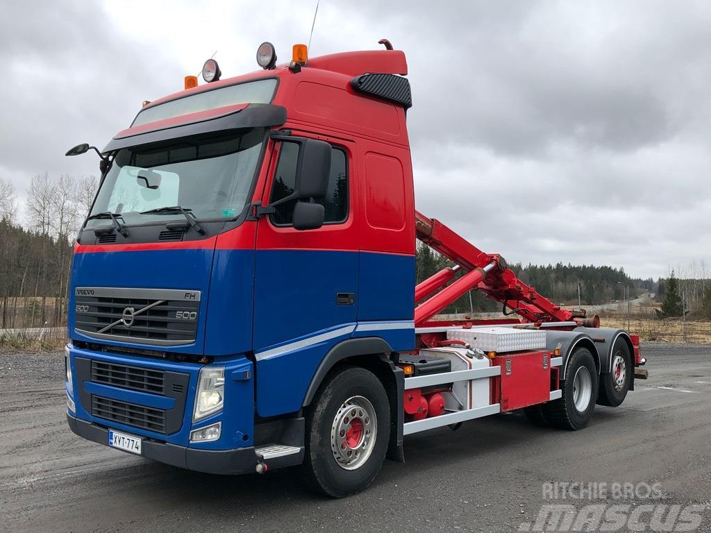 Volvo FH500 6x2 AJK koukkulaite