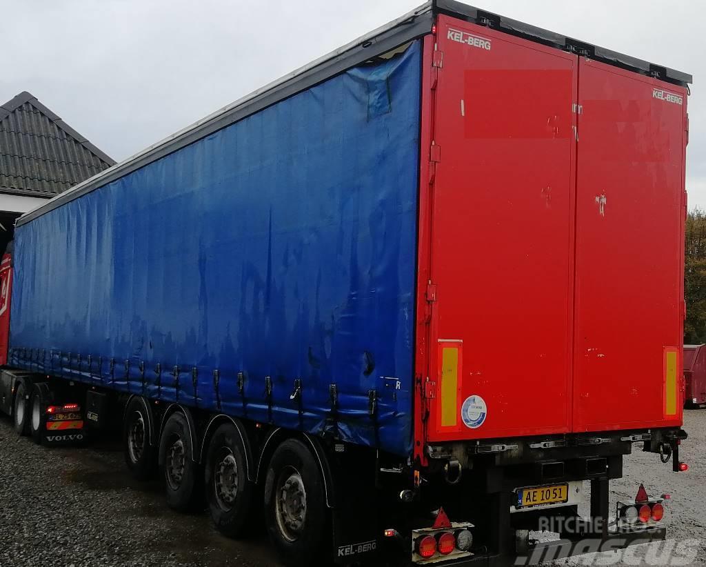 Kel-Berg 4 axle trailer