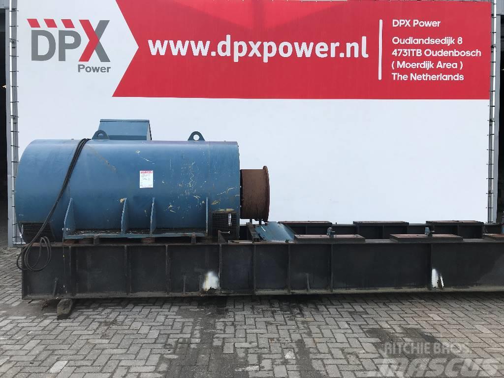 [Other] A. van Kaick 3.550 kVA Alternator - 10.000V - DPX-
