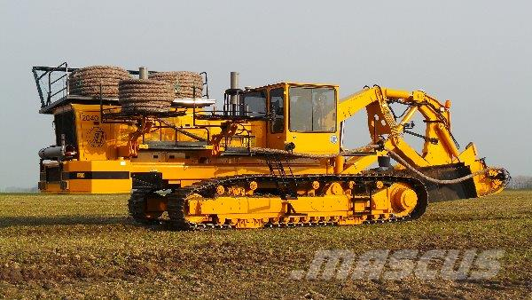 Inter-Drain Inter-Drain sleuvengraver / ploeg, Övriga maskiner för jordbearbetning