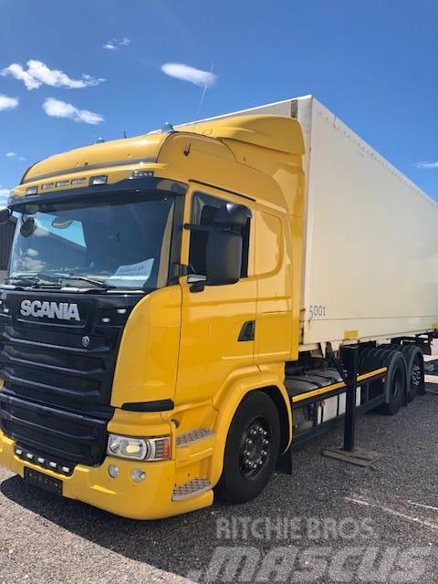 Scania G 450 Euro6 / Skinn / Lagab /