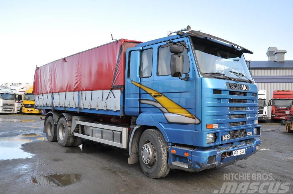 Scania 143 500 6X2