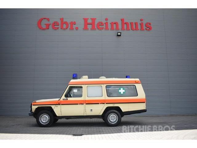 Mercedes-Benz 200-serie 230 GE 4x4 Ambulance/Krankenwagen Topcon