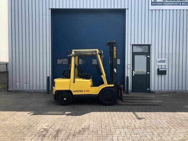 Hyster 3 ton's LPG heftruck MARGE