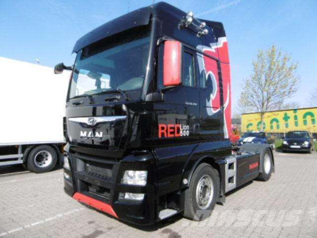 MAN TGX 18.500 XXL RED LION EDITION 2 KREIS HYDRAULIK