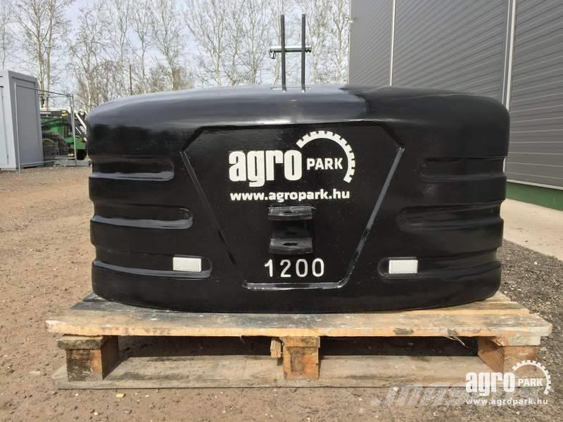 Egyéb New AGROPARK 1200 kg block weight for front