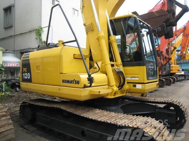 used komatsu pc120 8 crawler excavators year 2011 for. Black Bedroom Furniture Sets. Home Design Ideas