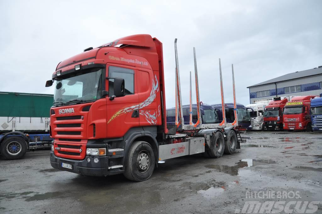Scania R580 6X4