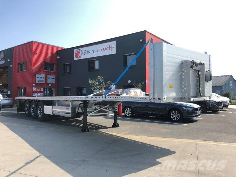 Schmitz Cargobull Semi-remorque plateau 3 essieux