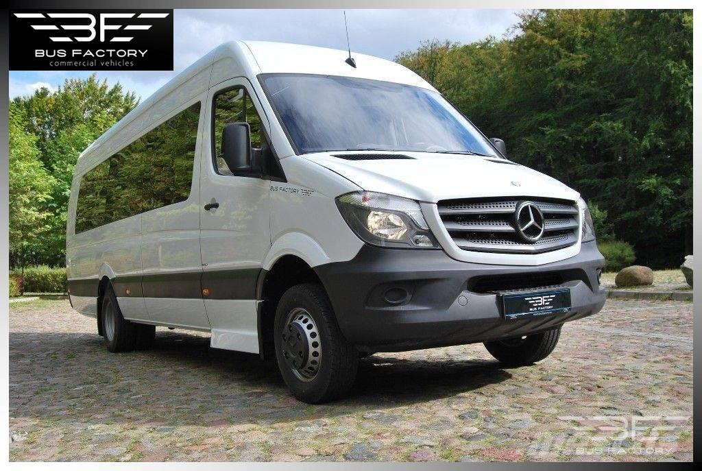 used mercedes benz sprinter 516 xxl intercity 23 1 mini bus year 2018 price 66 244 for. Black Bedroom Furniture Sets. Home Design Ideas